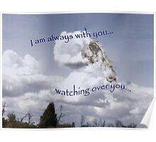 I am with you... Poster