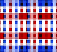 Red White Blue Blocks by Christy Leigh