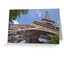 The Eiffel Tower, Paris, France Greeting Card