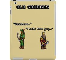 Old grudges iPad Case/Skin