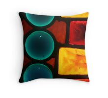 Azure Throw Pillow