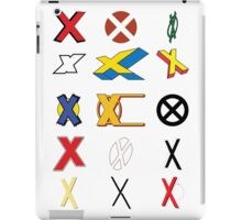 Mutant Alphabet iPad Case/Skin