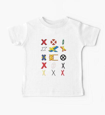 Mutant Alphabet Baby Tee