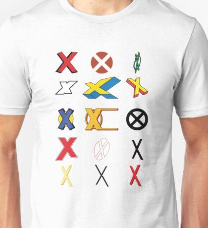 Mutant Alphabet Unisex T-Shirt