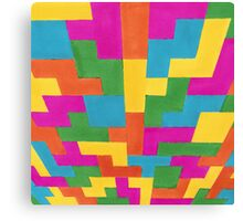 block art Canvas Print