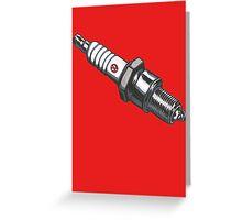 VW sparkplug Greeting Card