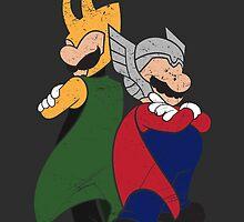 Super Norse Bros by razzan