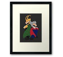 Super Norse Bros Framed Print