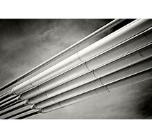 steel and sky Photographic Print