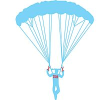 suicide skydive Photographic Print
