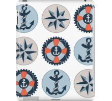 Nautical Adventures: Icons iPad Case/Skin