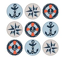 Nautical Adventures: Icons by Shai Coggins