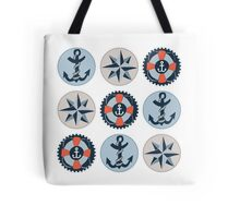 Nautical Adventures: Icons Tote Bag