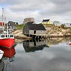 Peggy's Cove - Boats by Dave Law
