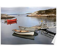 Canoes - Peggy's Cove Poster