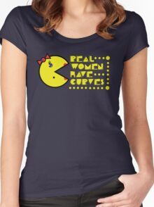 Pac Curves Women's Fitted Scoop T-Shirt