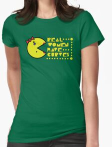 Pac Curves Womens Fitted T-Shirt