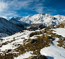Saas Fee panorama by peterwey