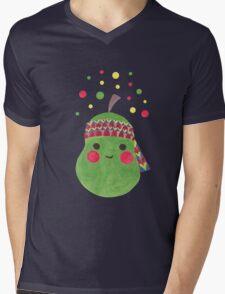 Hippie Pear Mens V-Neck T-Shirt