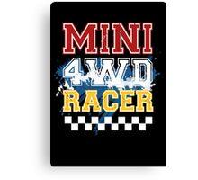 Mini 4WD Racer Canvas Print
