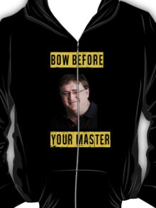 Bow before your master - Lord Gaben (Gabe Newell) Glorious PC Master Race T-Shirt