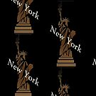 The Statue of Liberty New York Design by NaturePrints