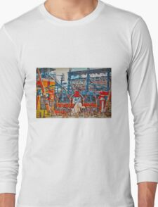 Sunny Day.  Comerica Park.  Perfect. Long Sleeve T-Shirt