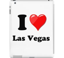 I Love Vegas iPad Case/Skin
