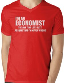 I'Am AN Economist Mens V-Neck T-Shirt