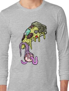 Carnihell #10 pizza slice Long Sleeve T-Shirt