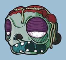 Carnihell #9 spaghetti brains zombie by Eric Fulton