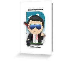 South Park Rising Greeting Card