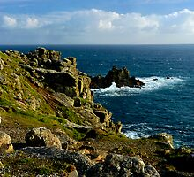 Lands End, Cornwall by rodsfotos