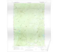 Maine USGS Historical Map Mount Blue 460633 1968 24000 Poster