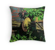 rusty sleepers... Throw Pillow