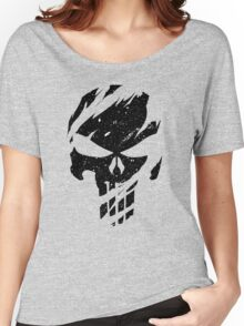Faded Punisher Women's Relaxed Fit T-Shirt