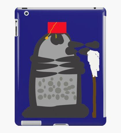 dalek fez and mop iPad Case/Skin