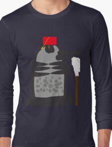 dalek fez and mop Long Sleeve T-Shirt