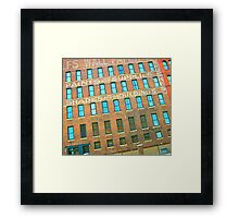 SIOUX CITY GLYPHS Framed Print