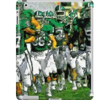Go Green Sparty Charge The Field iPad Case/Skin