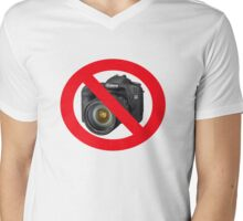 no photographs Mens V-Neck T-Shirt