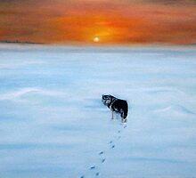 Alone by Alla Pierce