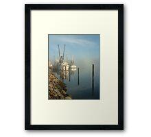 Shrimp Boats Framed Print