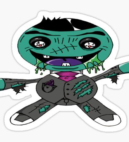 Zombie Doll  Sticker