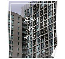 Troye Sivan Art is Risk Poster
