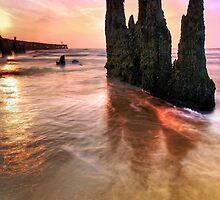 Walberswick Beach Suffolk 2. by Wayne Bradshaw