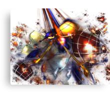 Manic Fusion Canvas Print