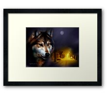 Watching Over You!!! Framed Print