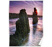 Walberswick Beach Suffolk 3. Poster