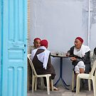 Old friends: Kairouan, Tunisia by Peter Gostelow